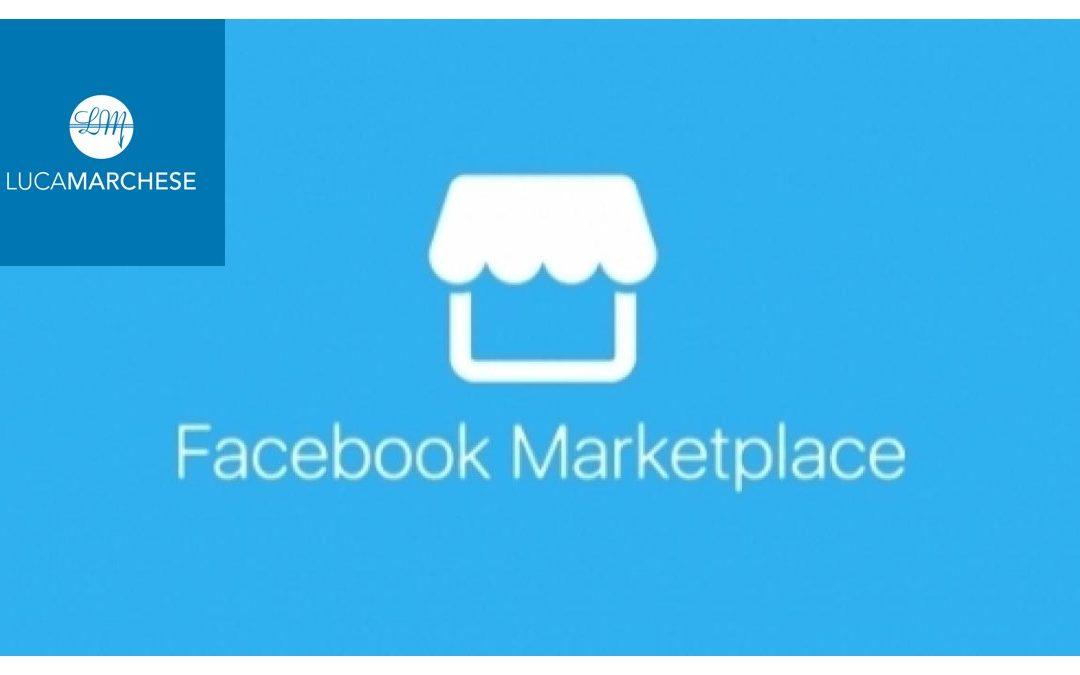 Come vendere sul marketplace facebook