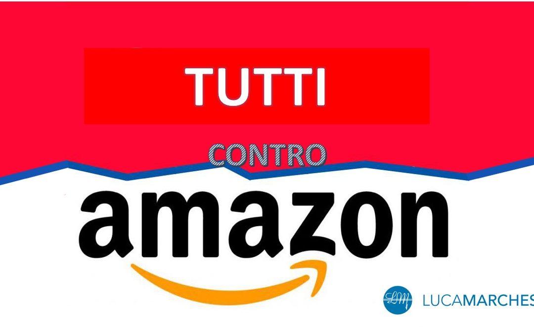 Tutti contro Amazon