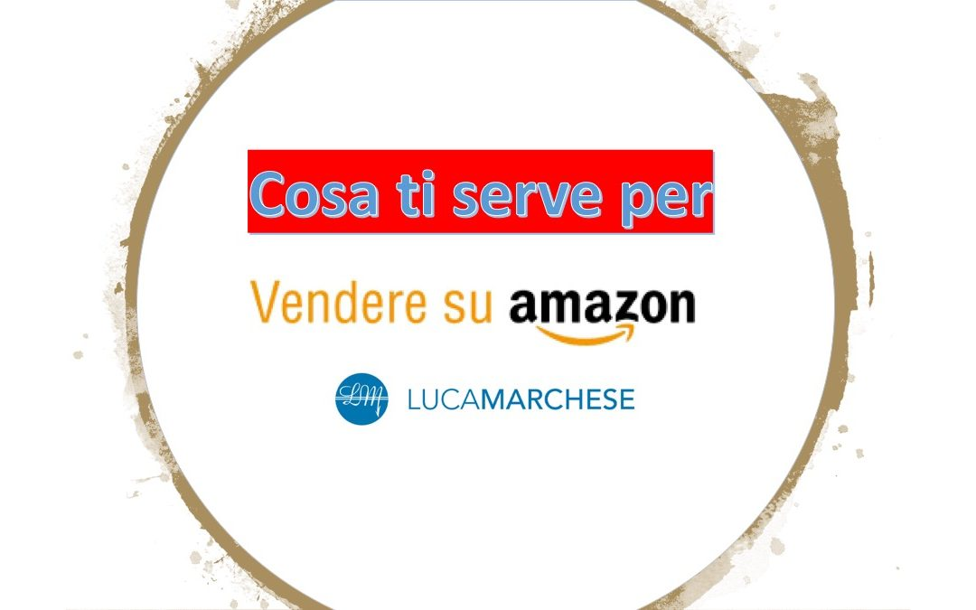 Vendi su Amazon in pochi semplici passaggi