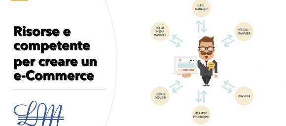 Risorse e competente per creare un e-Commerce